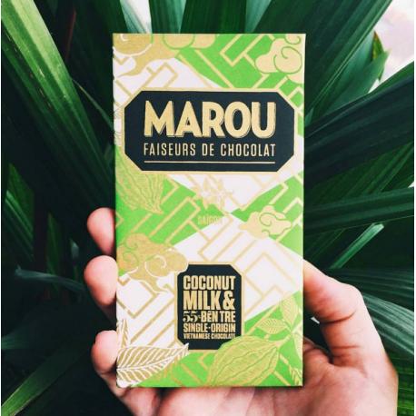 Ben Tre 55% Chocolat lait de coco