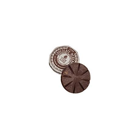 """Disques de chocolat """"TAZA"""" Amandes salés"""
