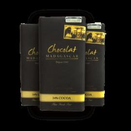 """Tablette """"Chocolaterie Robert"""" Blanc au caviar de vanille"""