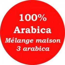 Mélange maison rouge 3 arabica -250g