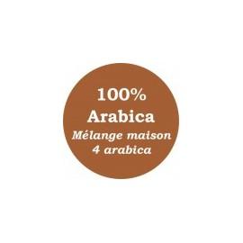 Mélange maison Marron 4 arabica - 250g
