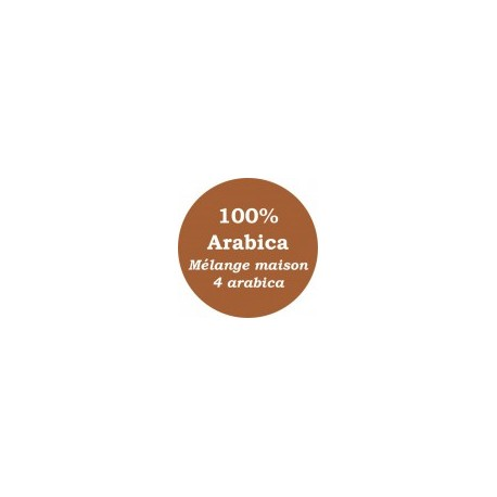Mélange maison Marron 4 arabica