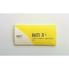 Tablette Chocolat Noir Rukét – HAITI 75%