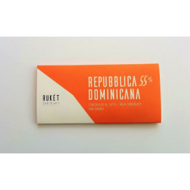 Tablette Chocolat Lait Rukét – RÉPUBLIQUE DOMINICAINE 55%
