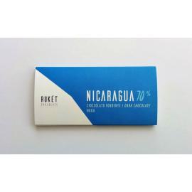 tablette Chocolat Noir Rukét – NICARAGUA 70%