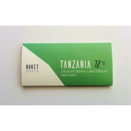 Tablette Chocolat Noir Rukét – TANZANIE 72%