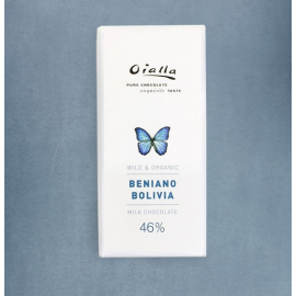 Tablette  Chocolat au Lait Oialla – Beniano 46% de Cacao