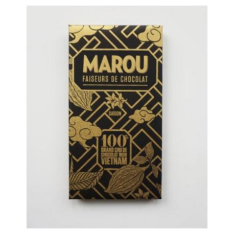 Tablette Chocolat Noir Marou – 100% de Cacao