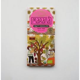 Tablette Chocolat Noir Marana – Cusco 70% de cacao