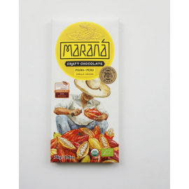 Tablette Chocolat Noir Marana – Piura 70% de cacao