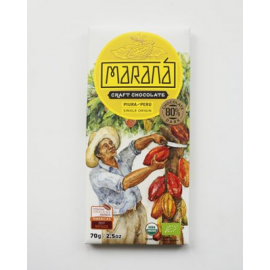 Tablette Chocolat Noir Marana – Piura 80% de cacao