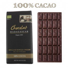 tablette chocolaterie Robert noir 100 bio